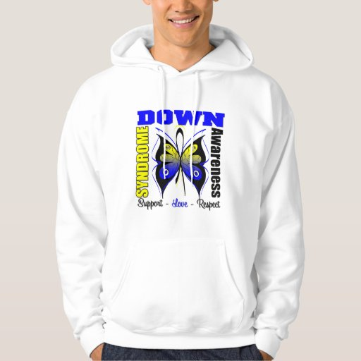 Down Syndrome Awareness Butterfly Hoodie