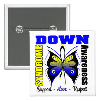 Down Syndrome Awareness Butterfly Pins