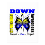 Down Syndrome Awareness Butterfly Postcards