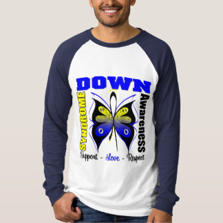 Down Syndrome Awareness Butterfly Shirt