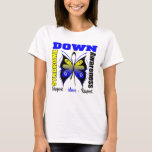 Down Syndrome Awareness Butterfly T-Shirt