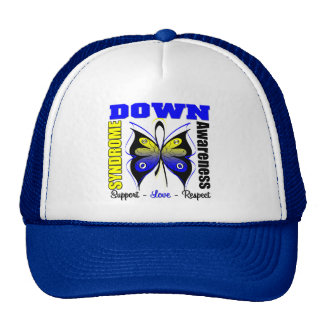 Down Syndrome Awareness Butterfly Trucker Hat