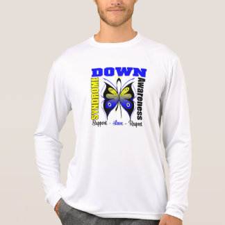 Down Syndrome Awareness Butterfly Tshirt