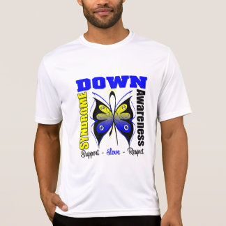 Down Syndrome Awareness Butterfly T Shirts