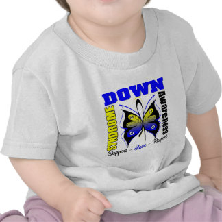 Down Syndrome Awareness Butterfly Tshirts