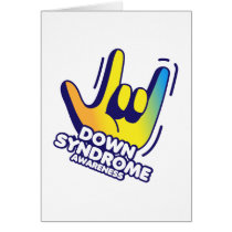 Down Syndrome Awareness Card