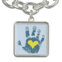 Down syndrome Awareness Charm Bracelet