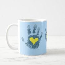 Down syndrome awareness coffee mug