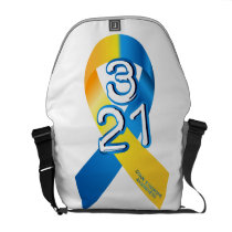 Down Syndrome Awareness Courier Bag