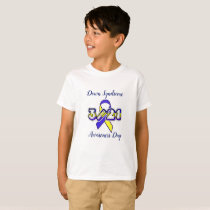 DOWN SYNDROME AWARENESS DAY  March 21 Shirt
