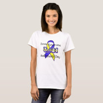 Down Syndrome Awareness Day Ribbon 3/21 Shirt