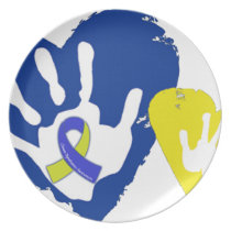 Down Syndrome Awareness Dinner Plate