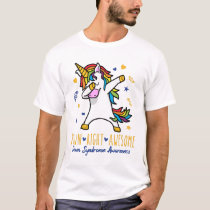 Down Syndrome Awareness Down Right Awesome Unicorn T-Shirt