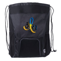Down Syndrome Awareness Drawstring Backpack