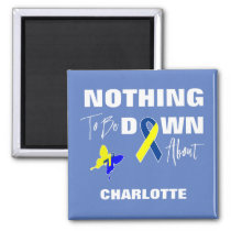 Down Syndrome Awareness Fun Personalized Magnet
