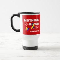 Down Syndrome Awareness Fun Personalized Travel Mug