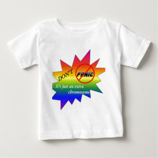 Down syndrome awareness items baby T-Shirt