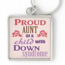 Down syndrome awareness keychain