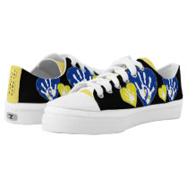 Down Syndrome Awareness Low-Top Sneakers