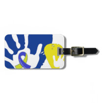 Down Syndrome Awareness Luggage Tag