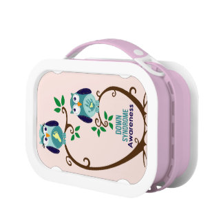 Down syndrome Awareness Lunch Box