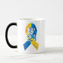 Down Syndrome Awareness Magic Mug