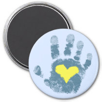 Down syndrome awareness magnet