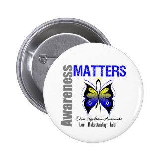 Down Syndrome Awareness Matters Pins