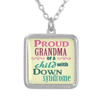 Down syndrome awareness pendants