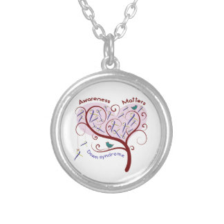 Down syndrome awareness necklaces