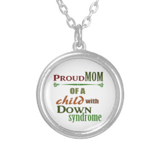 Down syndrome awareness custom necklace
