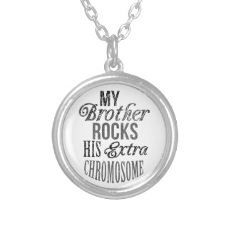 Down syndrome Awareness Personalized Necklace