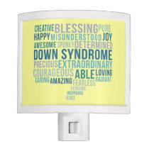 Down syndrome awareness night light