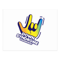 Down Syndrome Awareness Postcard