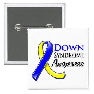 Down Syndrome Awareness Ribbon Button