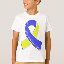 Down Syndrome Awareness Ribbon T-Shirt