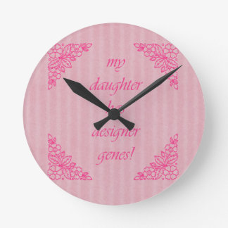Down Syndrome Awareness Round Clock