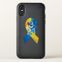 Down Syndrome Awareness Speck iPhone X Case