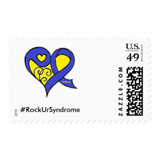 Down Syndrome awareness stamps