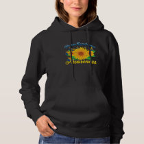 Down Syndrome Awareness Sunflower Butterfly Gift Hoodie