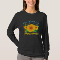 Down Syndrome Awareness Sunflower Butterfly Gift T-Shirt