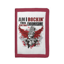 Down syndrome awareness trifold wallet