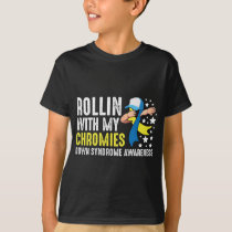 Down Syndrome Awareness Trisomy T21 Handicap T-Shirt