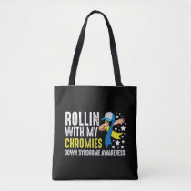 Down Syndrome Awareness Trisomy T21 Handicap Tote Bag
