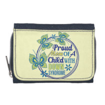 Down syndrome awareness wallet