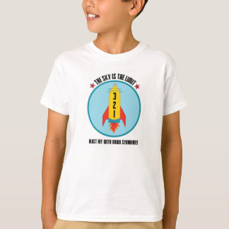 Down Syndrome Blast Off! T-Shirt