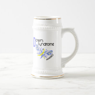 Down Syndrome BUTTERFLY 3.1 18 Oz Beer Stein