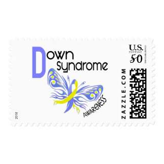 Down Syndrome BUTTERFLY 3.1 Postage