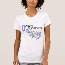 Down Syndrome BUTTERFLY 3.1 T-Shirt