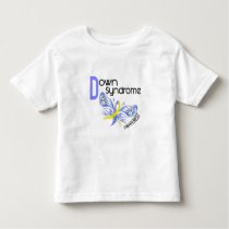 Down Syndrome BUTTERFLY 3.1 Toddler T-shirt